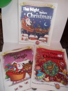Christmas activity books
