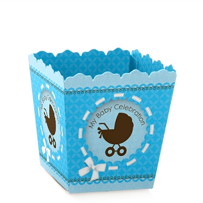 CANDY BOX- Baby Shower Blue