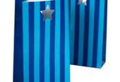 BAG- Candy Stripes- DBLUE/LBLUE