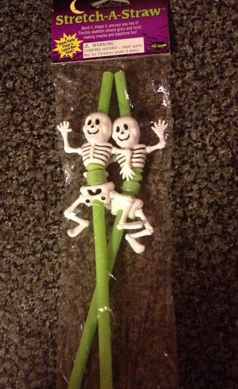 HALL- Skeleton Straws