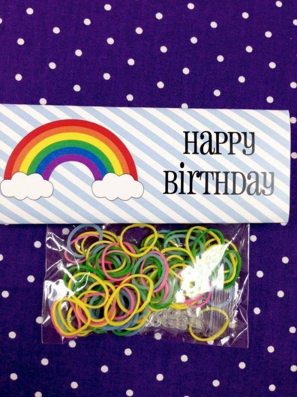 Rainbow Loom Party Bag