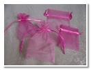 Organza Bag- Fushia Pink