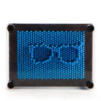 Pin Art- Neon Blue