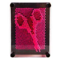 Pin Art- Neon Pink