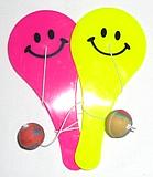Smiley Paddle Ball Game