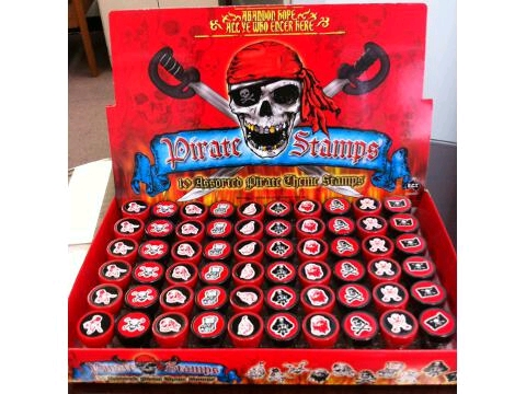 STAMPERS- Pirates