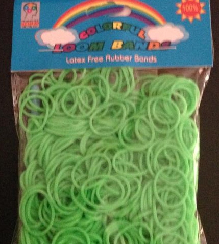 Loom Band- GREEN