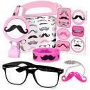 Pink Moustache Box