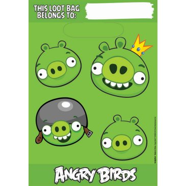 BAG- Party- ANGRY BIRDS