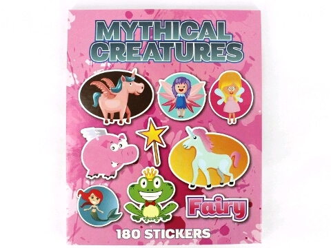 Sticker Book- Mythical Creatures