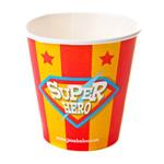 Jazabaloo Superhero Cups