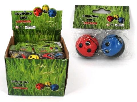 Ladybug Bouncy Ball