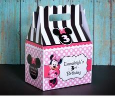 BOX- Gable Minnie Mouse