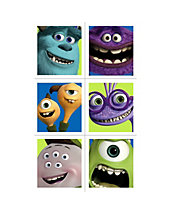 STICKERS- Monsters Inc
